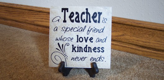 Teacher - special friend
