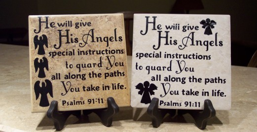 He will give His Angels special instructions to guard You all along the paths You take in life.